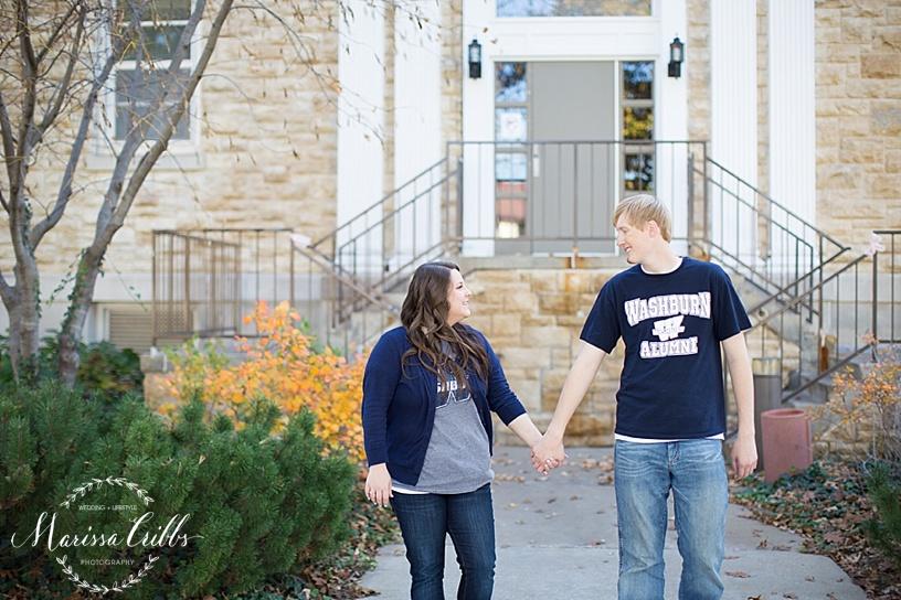 Topeka, KS Engagement Session | Marissa Cribbs Photography