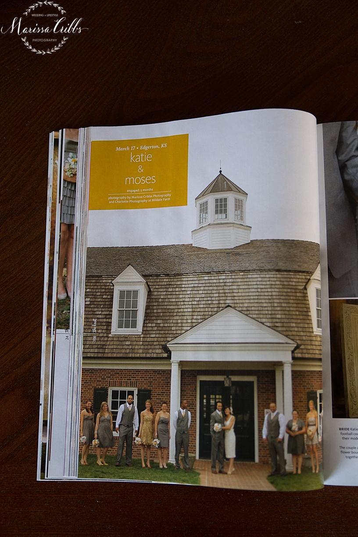 The Knot Missouri / Kansas Spring / Summer 2015 Issue | Marissa Cribbs Photography | Charlotte Photography | Mildale Farm | KC Wedding Photography