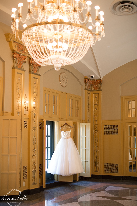 Emily Hart Bridal Gown   The Hilton President Kansas City   Marissa Cribbs Photography