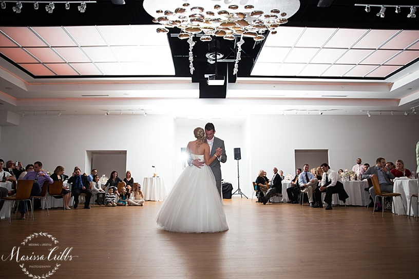 Husband and Wife First Dance   Marissa Cribbs Photography   The Gallery Event Space   KC wedding Photographer
