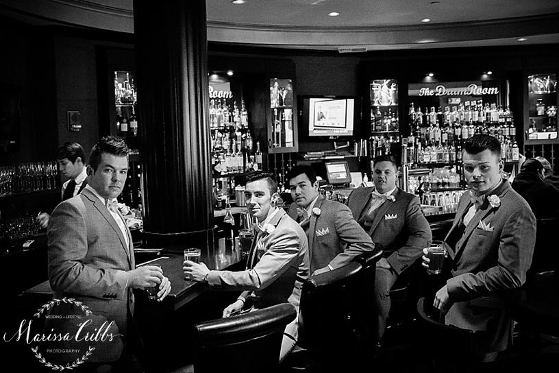 The President Hotel Bar   Downtown KC   Marissa Cribbs Photography   KC wedding Photographer