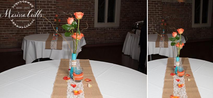 Wedding Reception Californos | Wedding Cake | KC Wedding Photographer | Marissa Cribbs Photography | Californos