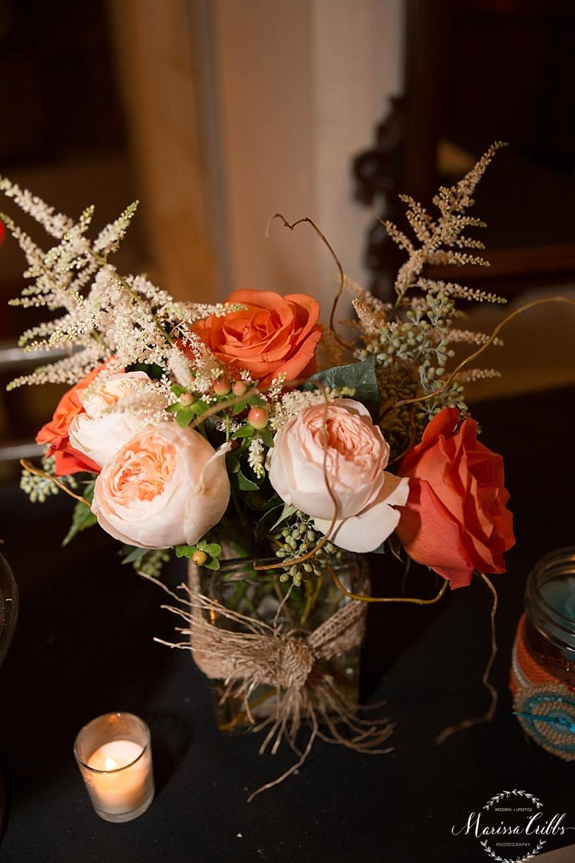 Wedding Ceremony and Reception Californos | Californos Westport | KC Weddings | Marissa Cribbs Photography