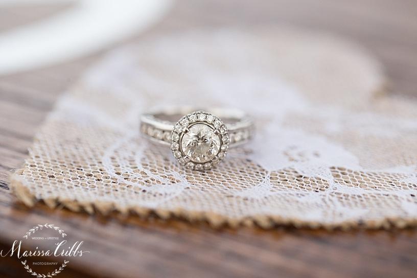 Engagement Ring | Kansas City Engagement Session | Marissa Cribbs Photography