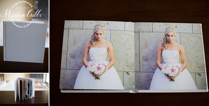 Signature Leather Wedding Album | Marissa Cribbs Photography | Products