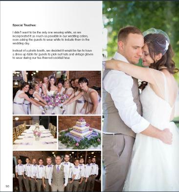 E A Bride Spring 2015 | Cody & Kathleen's Wedding | Marissa Cribbs Photography | Town Square Paola