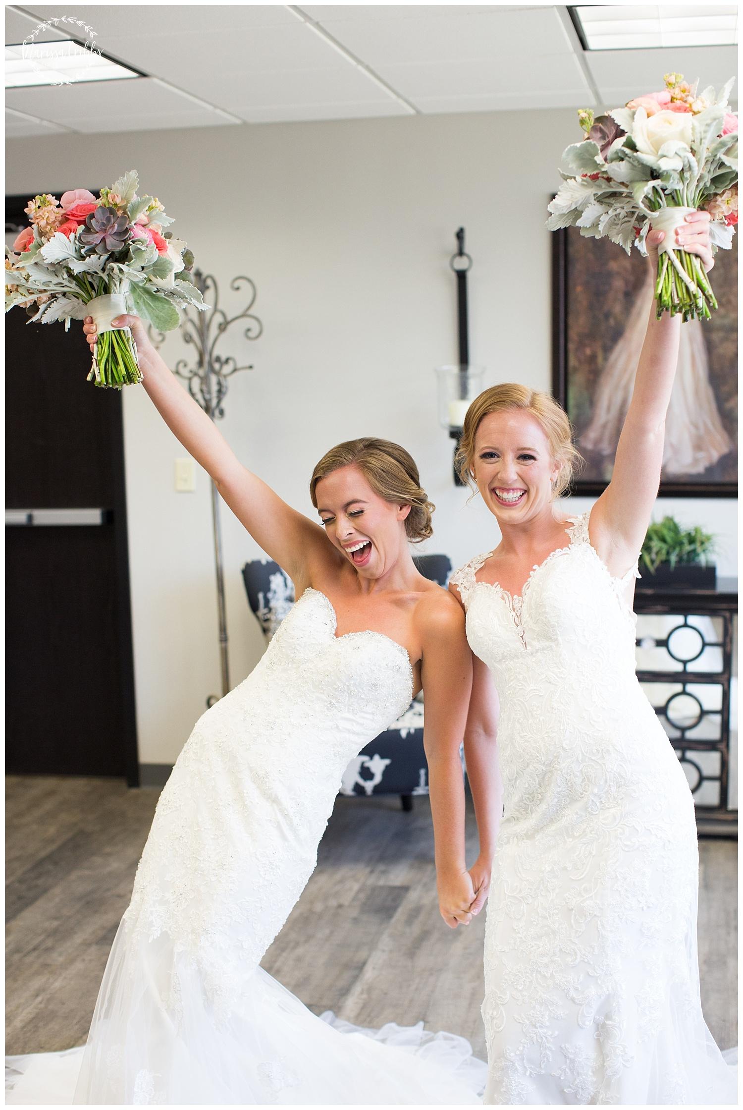 Twin Double Wedding | Union Horse Distilling Co. | Marissa Cribbs Photography | KC Weddings_0030.jpg