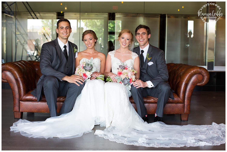 Twin Double Wedding | Union Horse Distilling Co. | Marissa Cribbs Photography | KC Weddings_0069.jpg