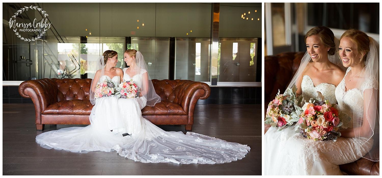 Twin Double Wedding | Union Horse Distilling Co. | Marissa Cribbs Photography | KC Weddings_0095.jpg
