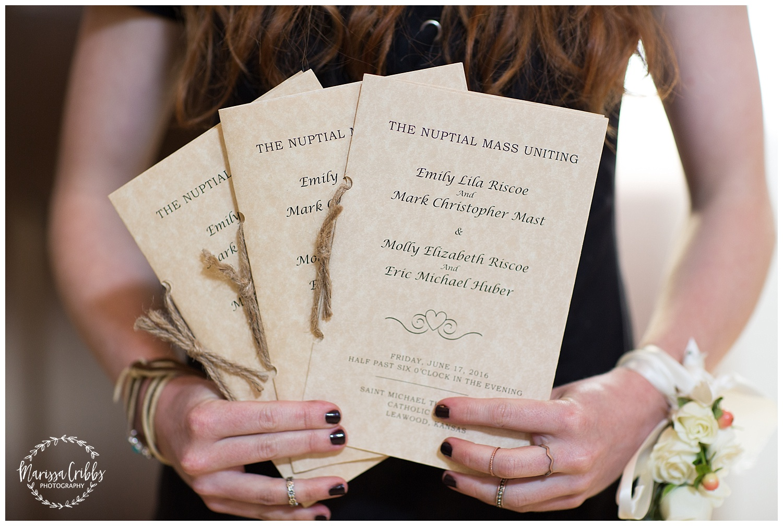 Twin Double Wedding | Union Horse Distilling Co. | Marissa Cribbs Photography | KC Weddings_0119.jpg