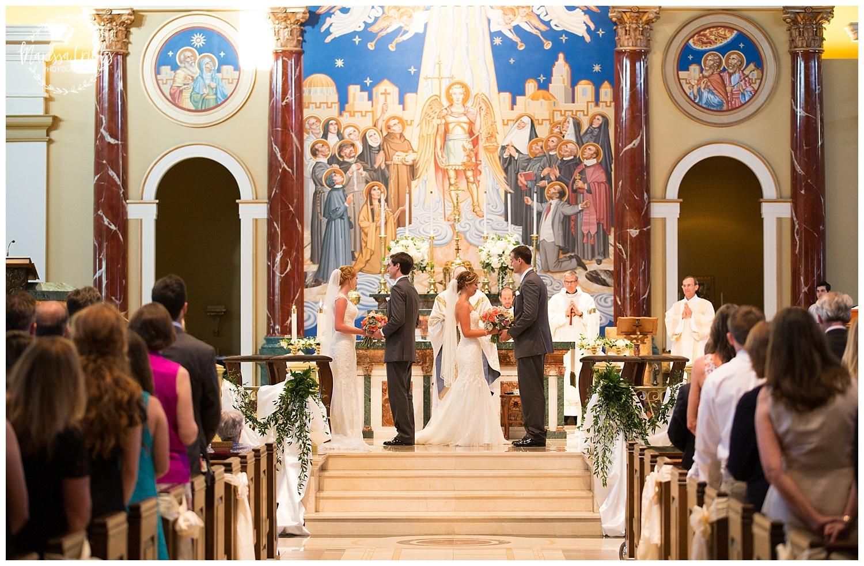 Twin Double Wedding | Union Horse Distilling Co. | Marissa Cribbs Photography | KC Weddings_0149.jpg