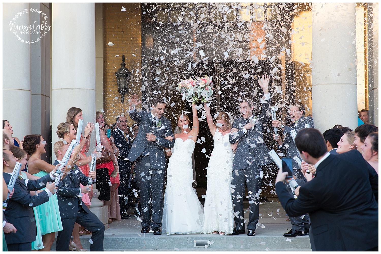 Twin Double Wedding | Union Horse Distilling Co. | Marissa Cribbs Photography | KC Weddings_0157.jpg