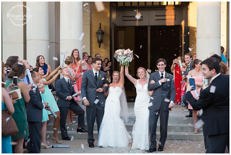 Twin Double Wedding | Union Horse Distilling Co. | Marissa Cribbs Photography | KC Weddings_0158.jpg