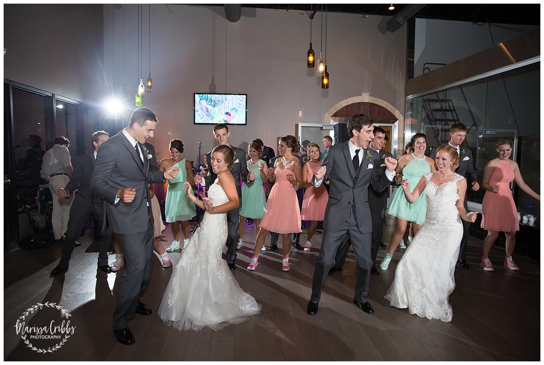 Twin Double Wedding | Union Horse Distilling Co. | Marissa Cribbs Photography | KC Weddings_0180.jpg