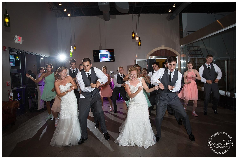 Twin Double Wedding | Union Horse Distilling Co. | Marissa Cribbs Photography | KC Weddings_0181.jpg