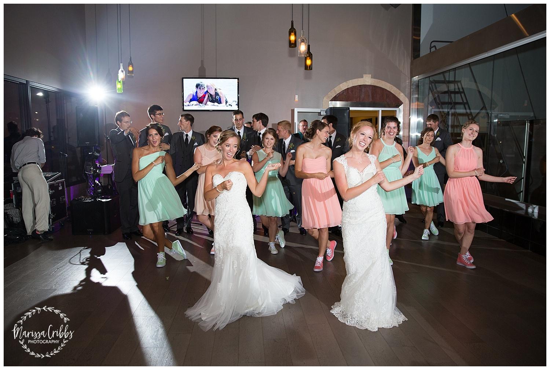 Twin Double Wedding | Union Horse Distilling Co. | Marissa Cribbs Photography | KC Weddings_0182.jpg