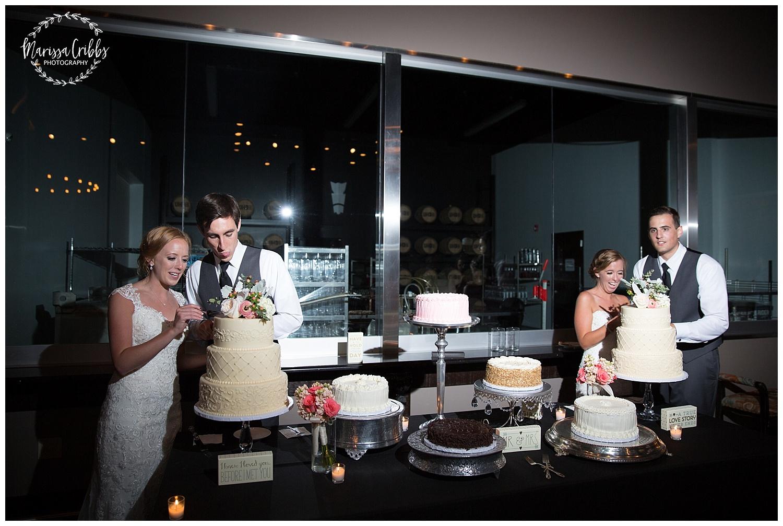 Twin Double Wedding | Union Horse Distilling Co. | Marissa Cribbs Photography | KC Weddings_0196.jpg