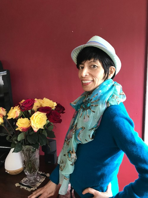 Check out my dear friend, Yogi Mojie as she shifts into Spring and battles cancer -
