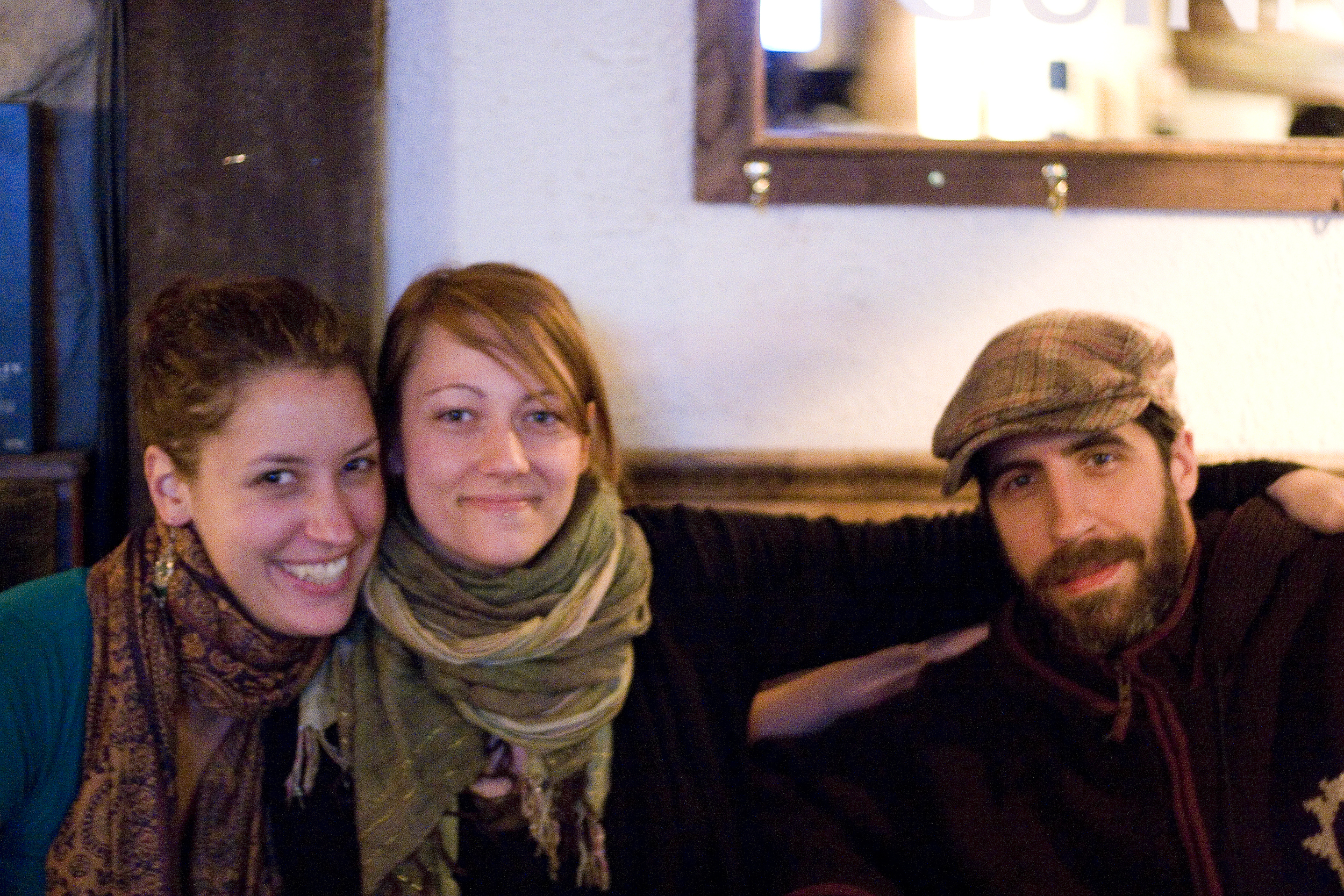 With close friends in 2009, after going gluten free.