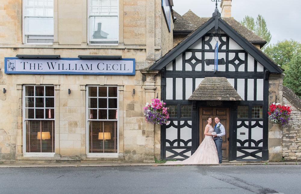 The beautiful William Cecil Hotel in Stamford