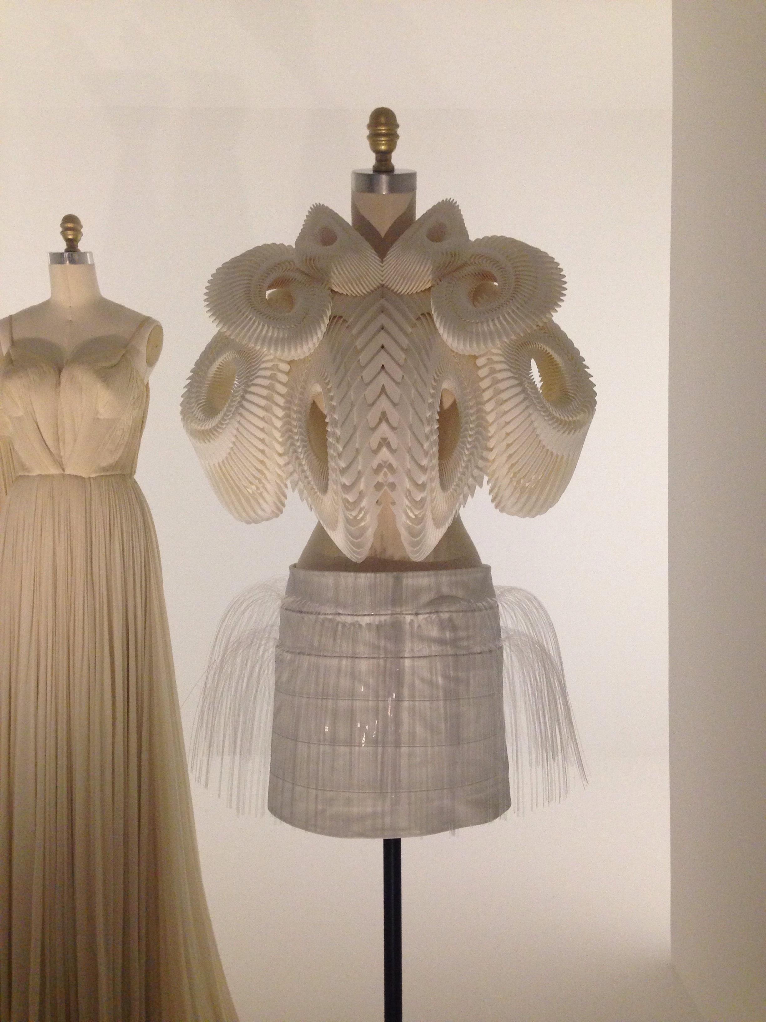 Iris Van Herpen 3D printed dress