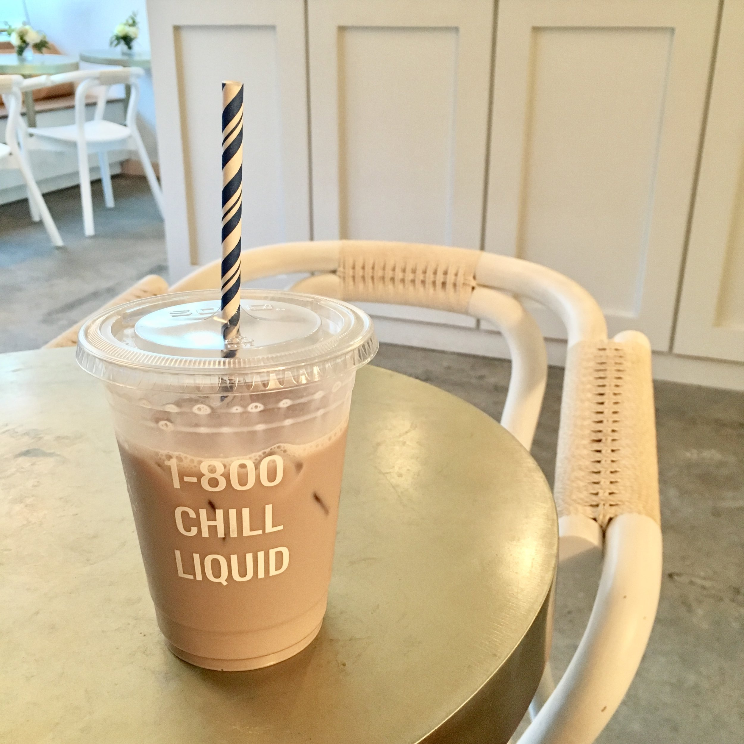 ube-bae latte