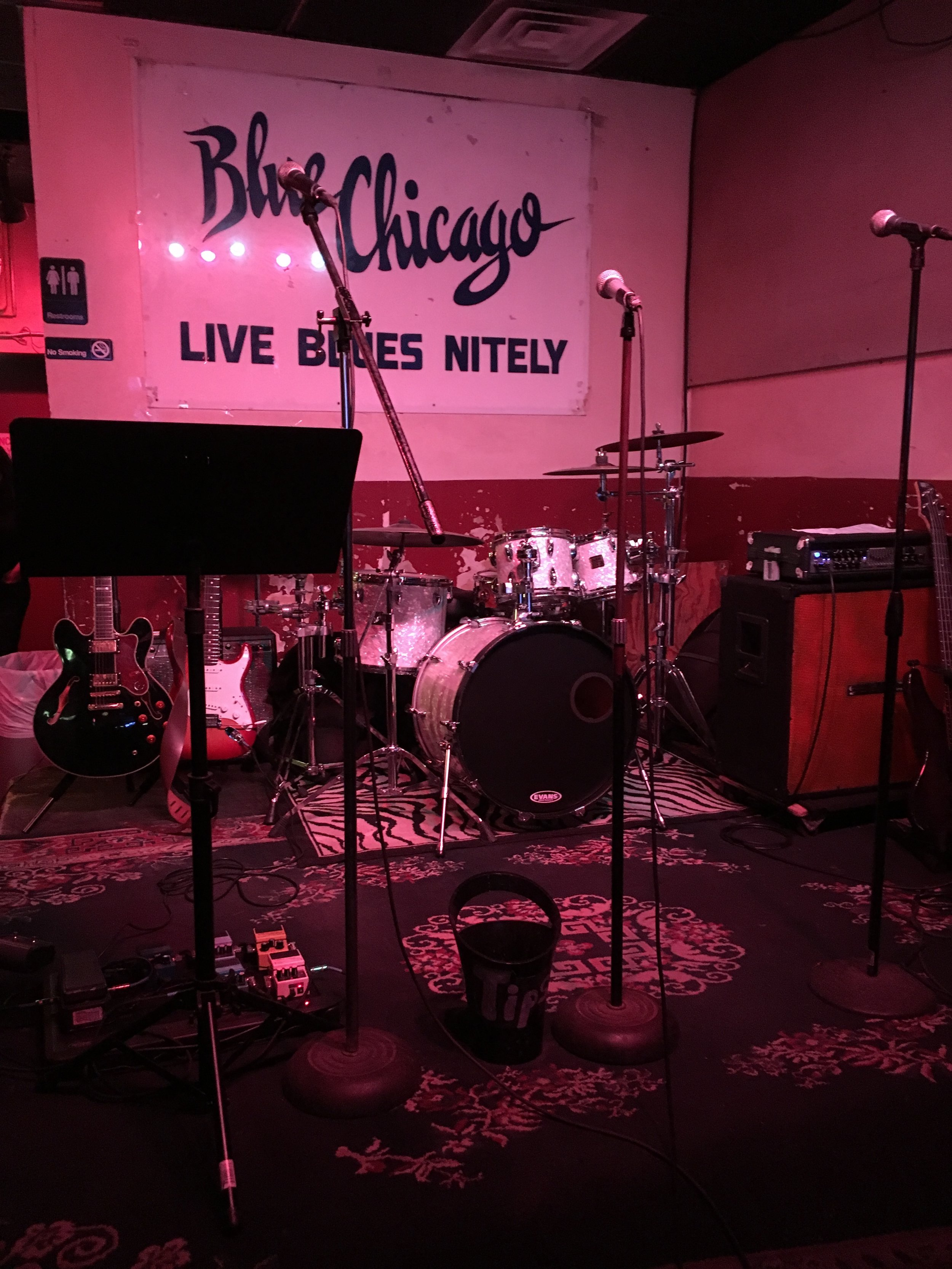 Chicago jazz club 01/2017