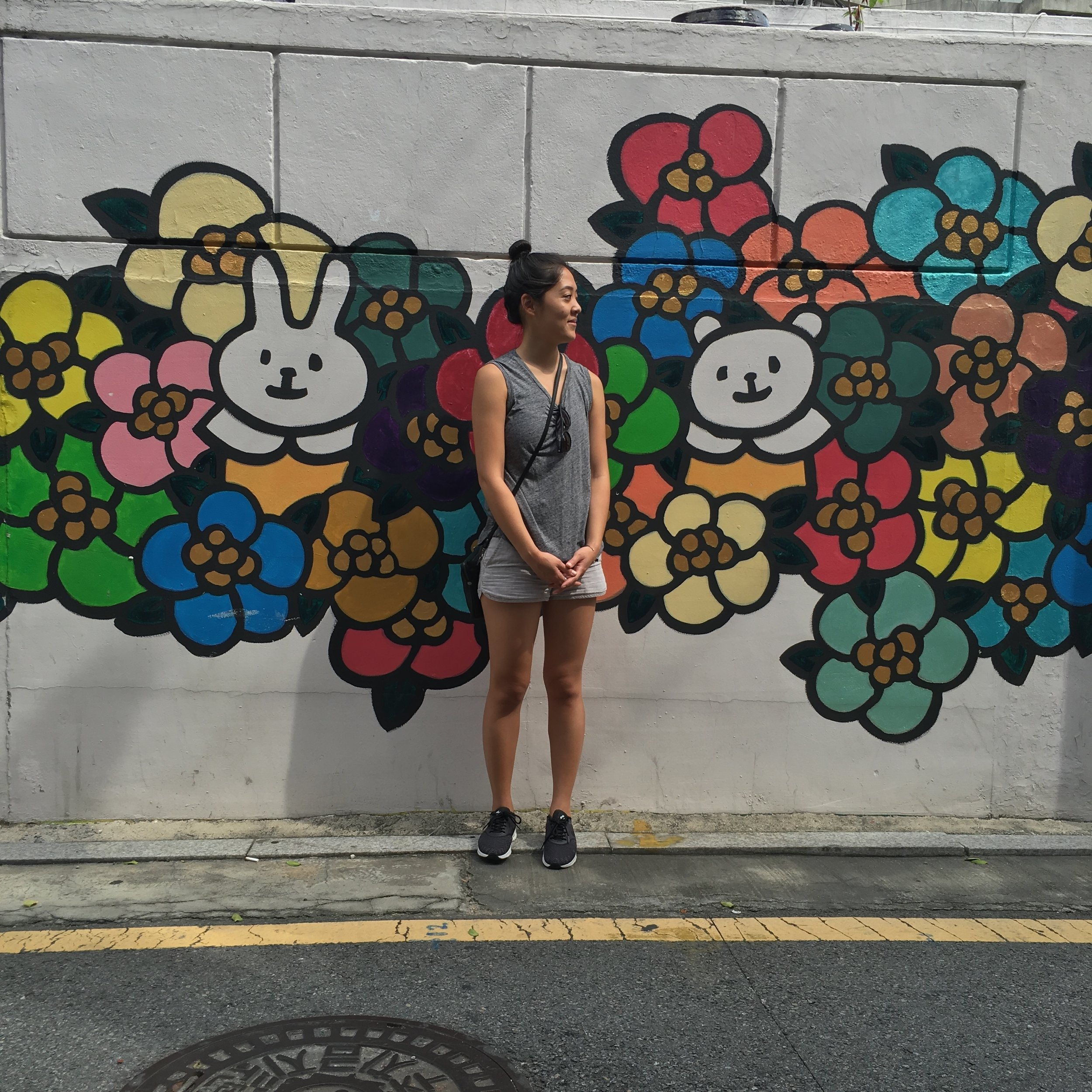 Tim took this photo of me right before we went to Holt Adoption office in Seoul. It was located three subway stops from where we were staying. I was a mess from the heat and anxiety.