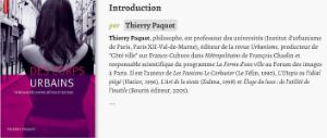 Des corps urbains , introduction de Thierry Paquot, Autrement, 2006