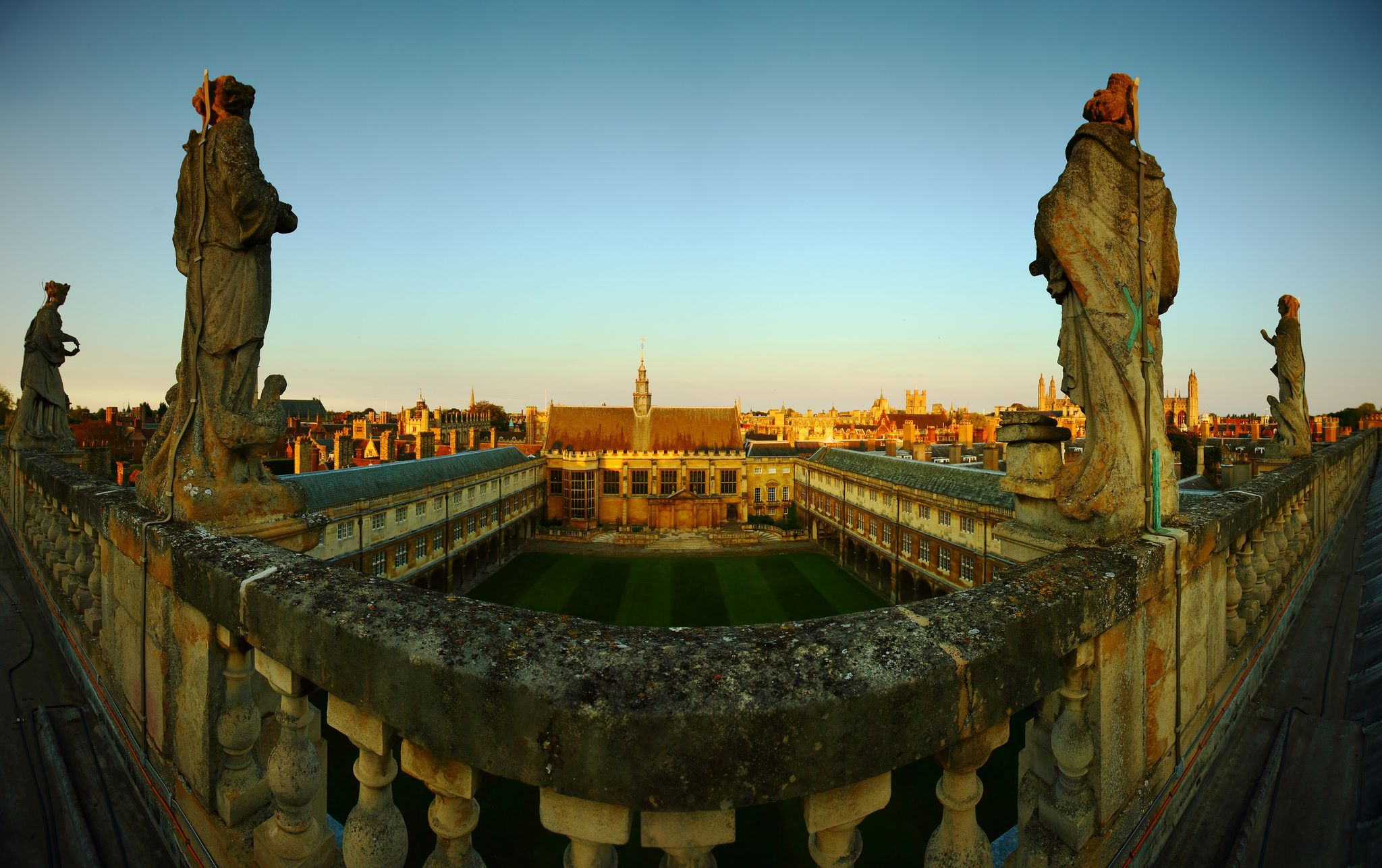 Trinity College ,  Cambridge , where I was an undergraduate