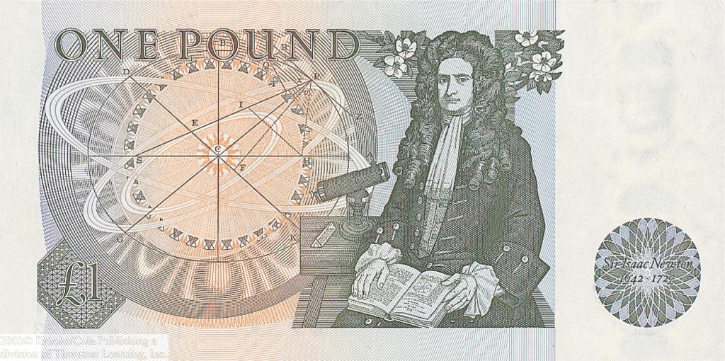 Sir Isaac Newton  , Britain's greatest mathematician