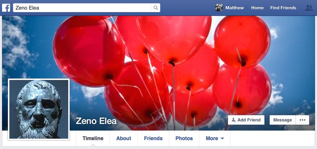 Zeno's Facebook page