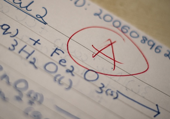 A grade in Chemistry