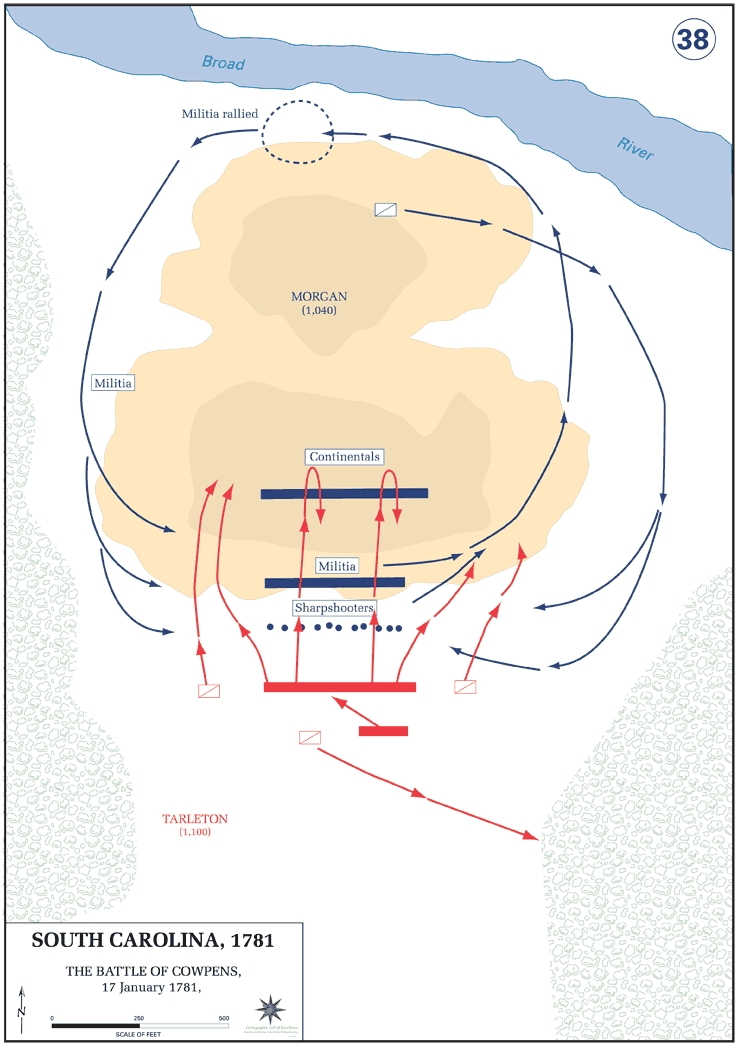 Battle of Cowpens.  Source