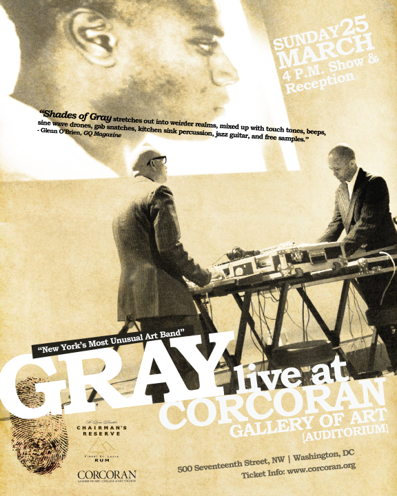 GRAY LIVE | CORCORAN GALLERY OF ART