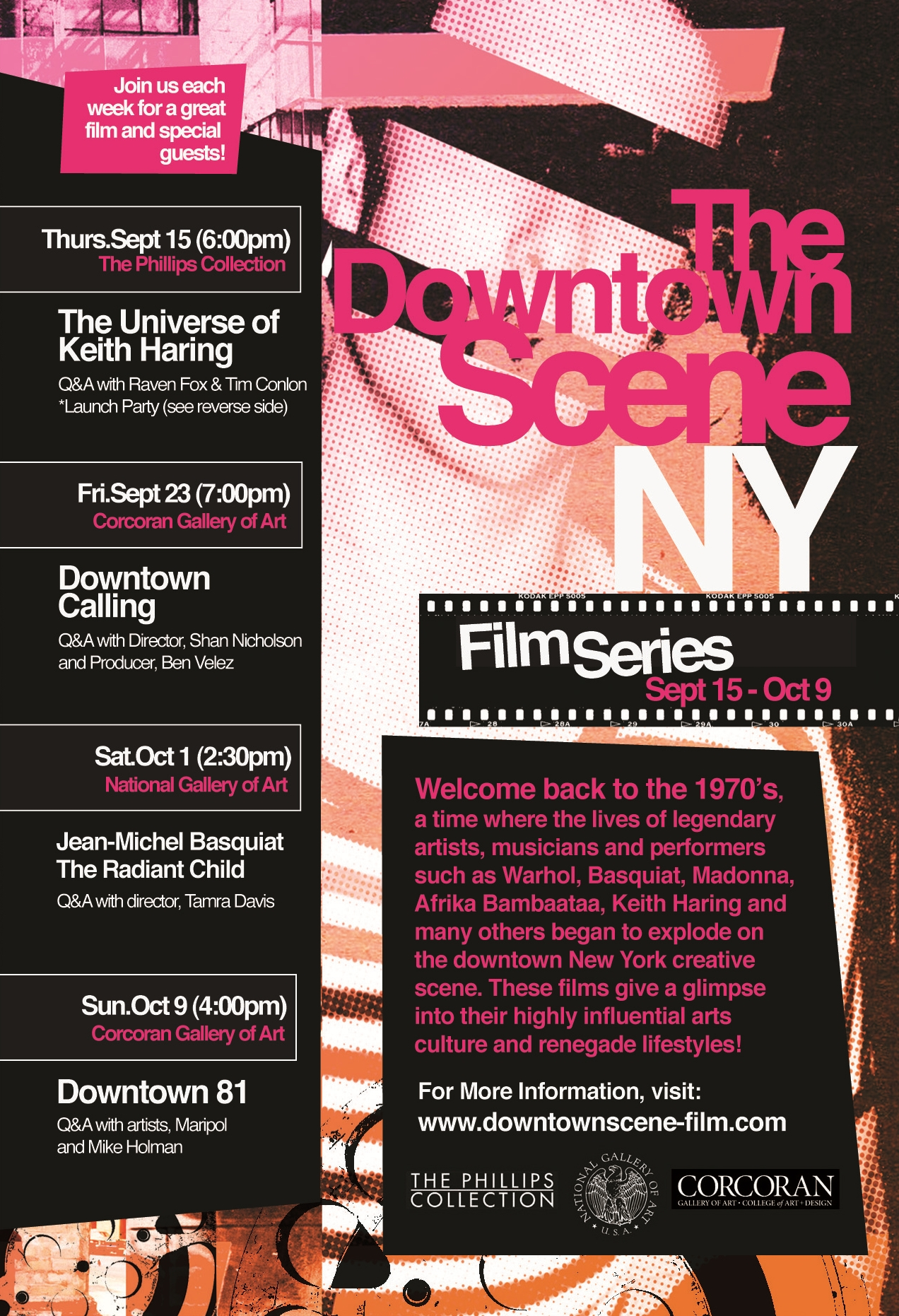 DOWNTOWN SCENE NY | FILM SERIES