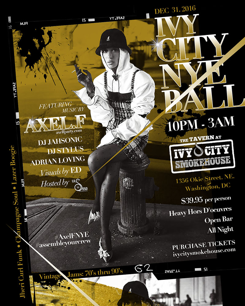AXEL F. NEW YEARS EVE AT IVY CITY