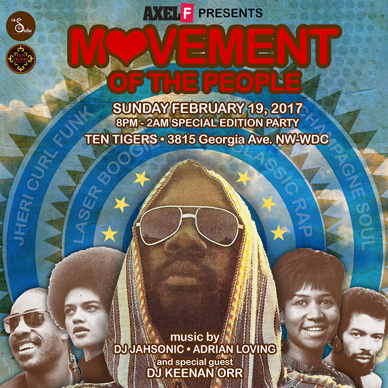 AXEL F. PRESENTS: MOVEMENT OF THE PEOPLE