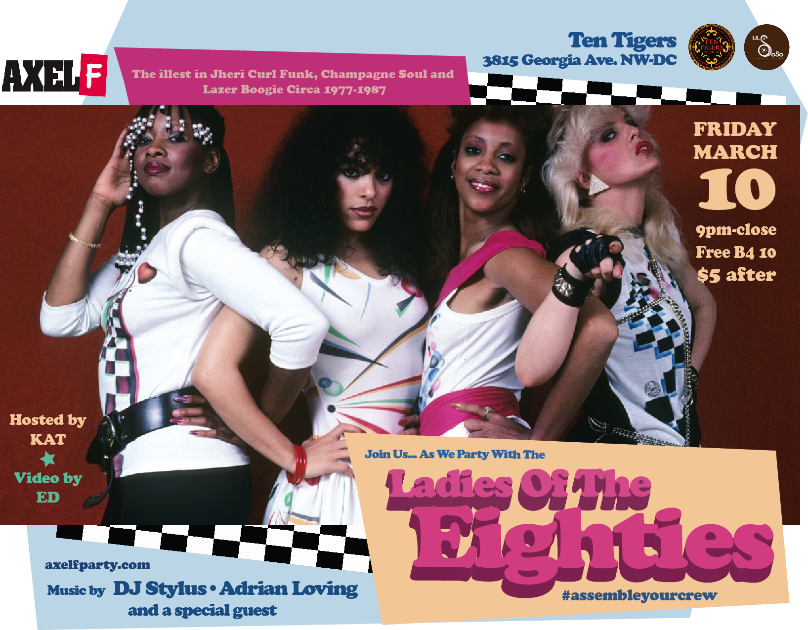 AXEL F. PRESENTS: LADIES OF THE 80'S