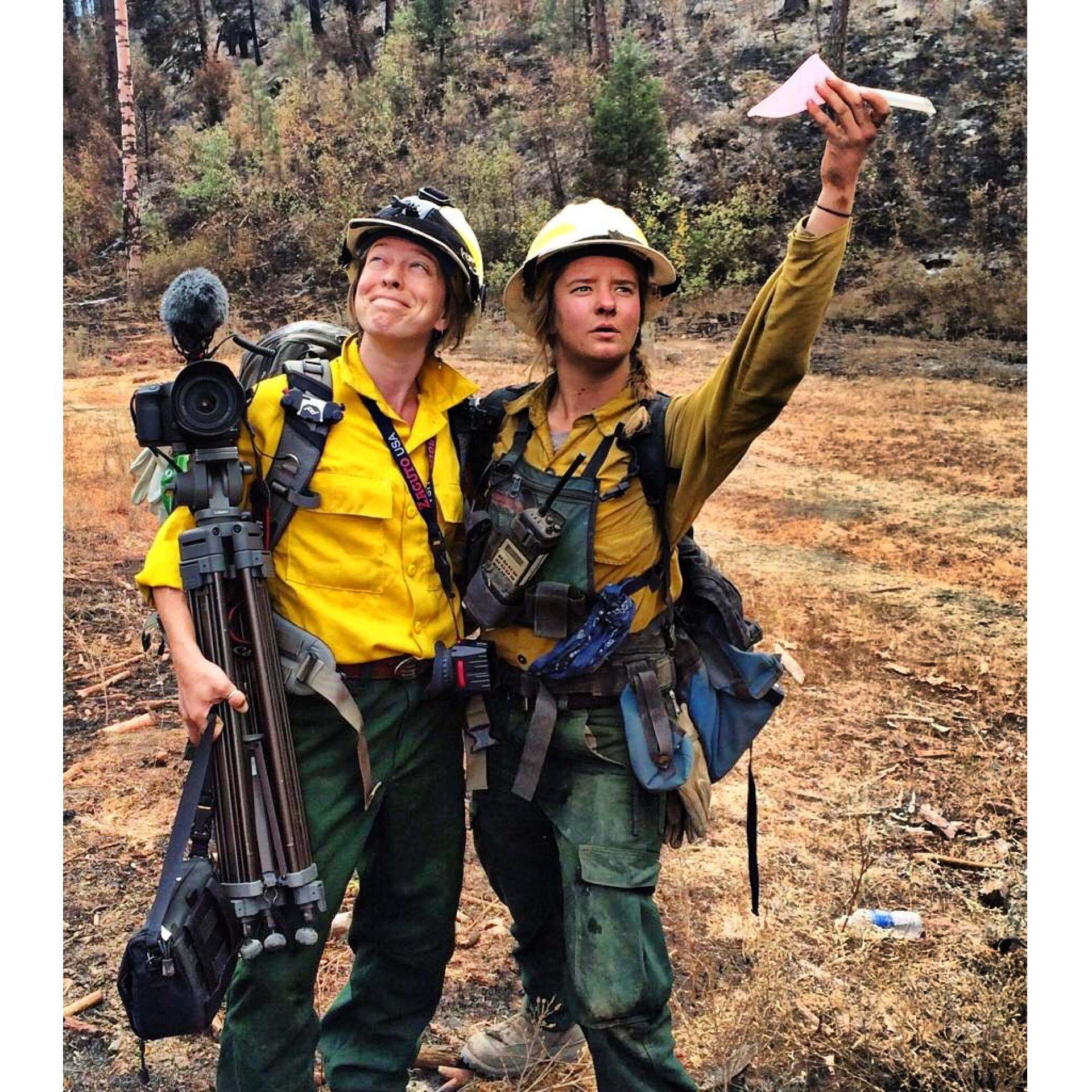 S filming wildfire crew.jpg