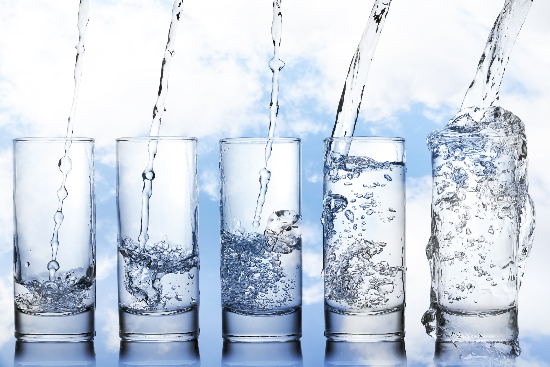 Glass has been the most natural way to store water for thousands of years.