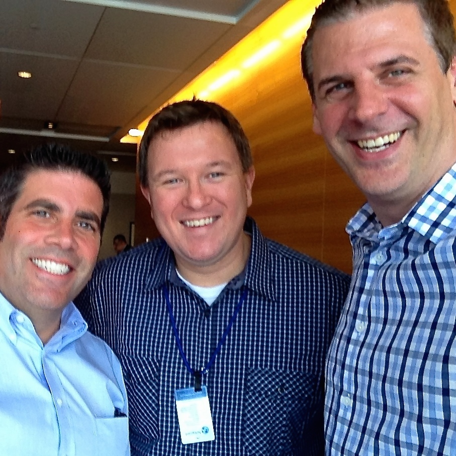 Lou Mongello from    WDW Radio   , Jared Easley from    Starve the Doubts   , and Shawn Smith,    The Mobile Pro