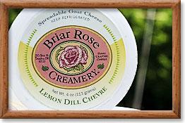 Chèvre cheese, briarrosecreamery.com