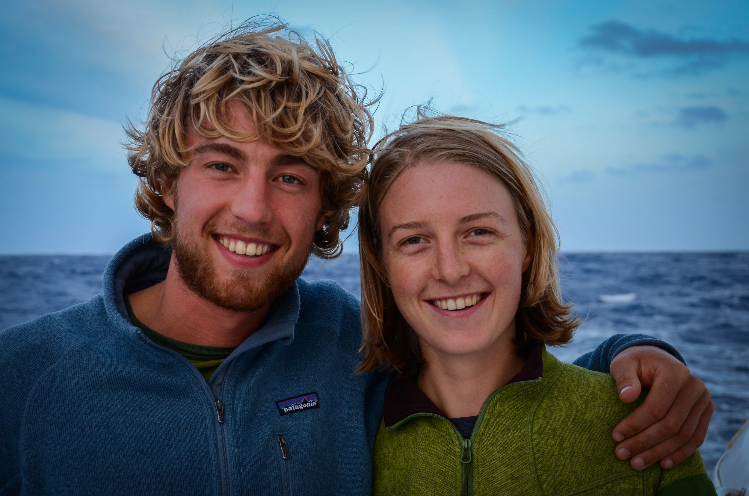 Ten years after the twins captained their first sailboat, they cross the Pacific for the second time. February 2012.
