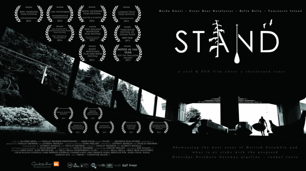 STAND Film -  A surfand SUP film about BC's threatened coast