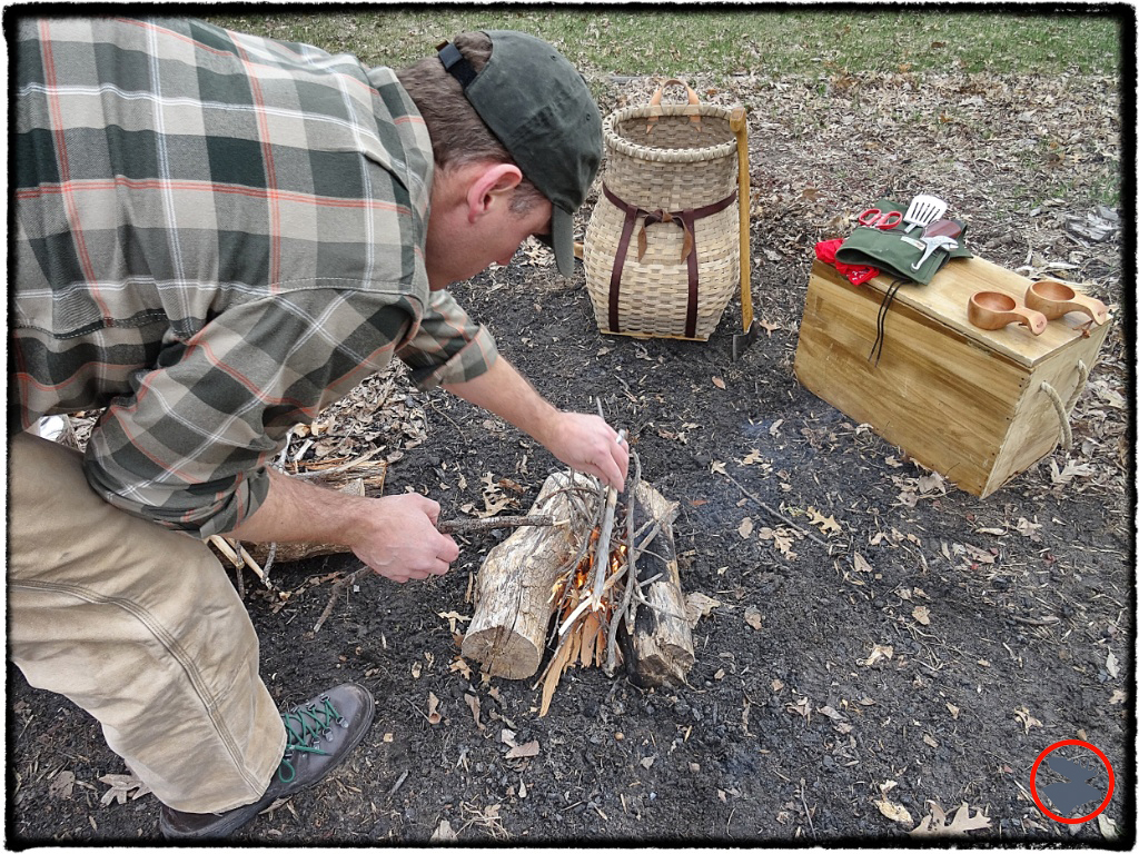 To get a hot fire going quickly and bring your pot to a boil, you'll want some dry tinder and a healthy supply of pencil-thick kindling. The rookie mistake is trying to get a fire going with pieces that are too thick, especially if they're wet with morning dew.