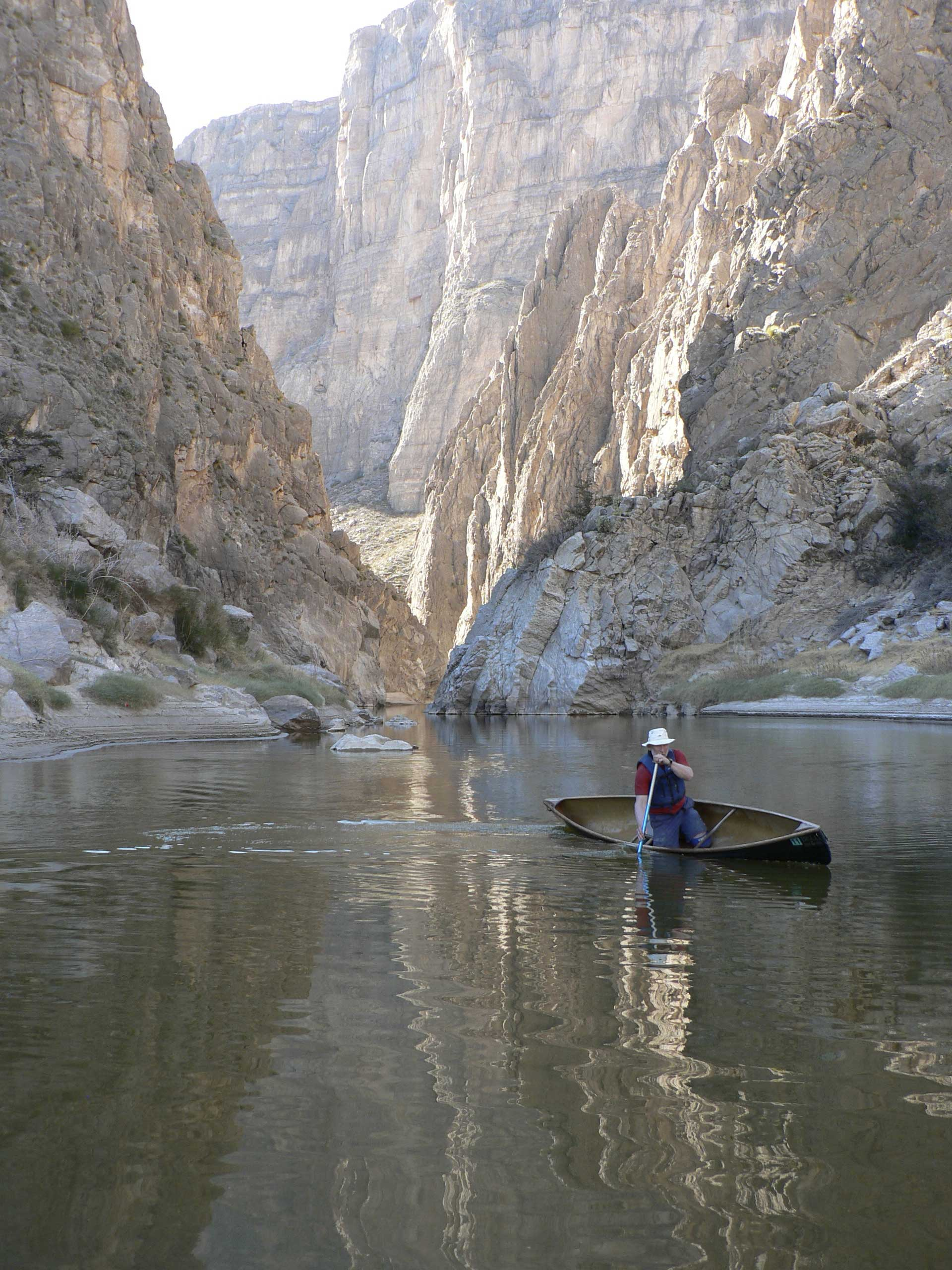 Canoeing the Rio Grande | Photo courtesy of Rob Kesselring