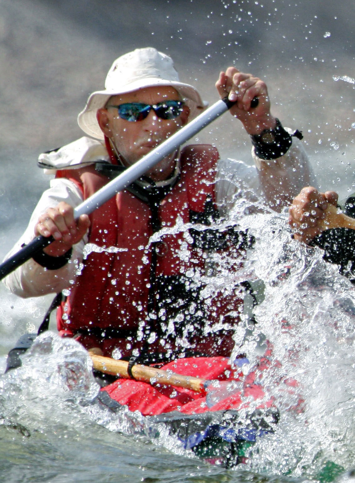 Rob canoeing the Burnside River in Nunavut | Photo courtesy of Rob Kesselring