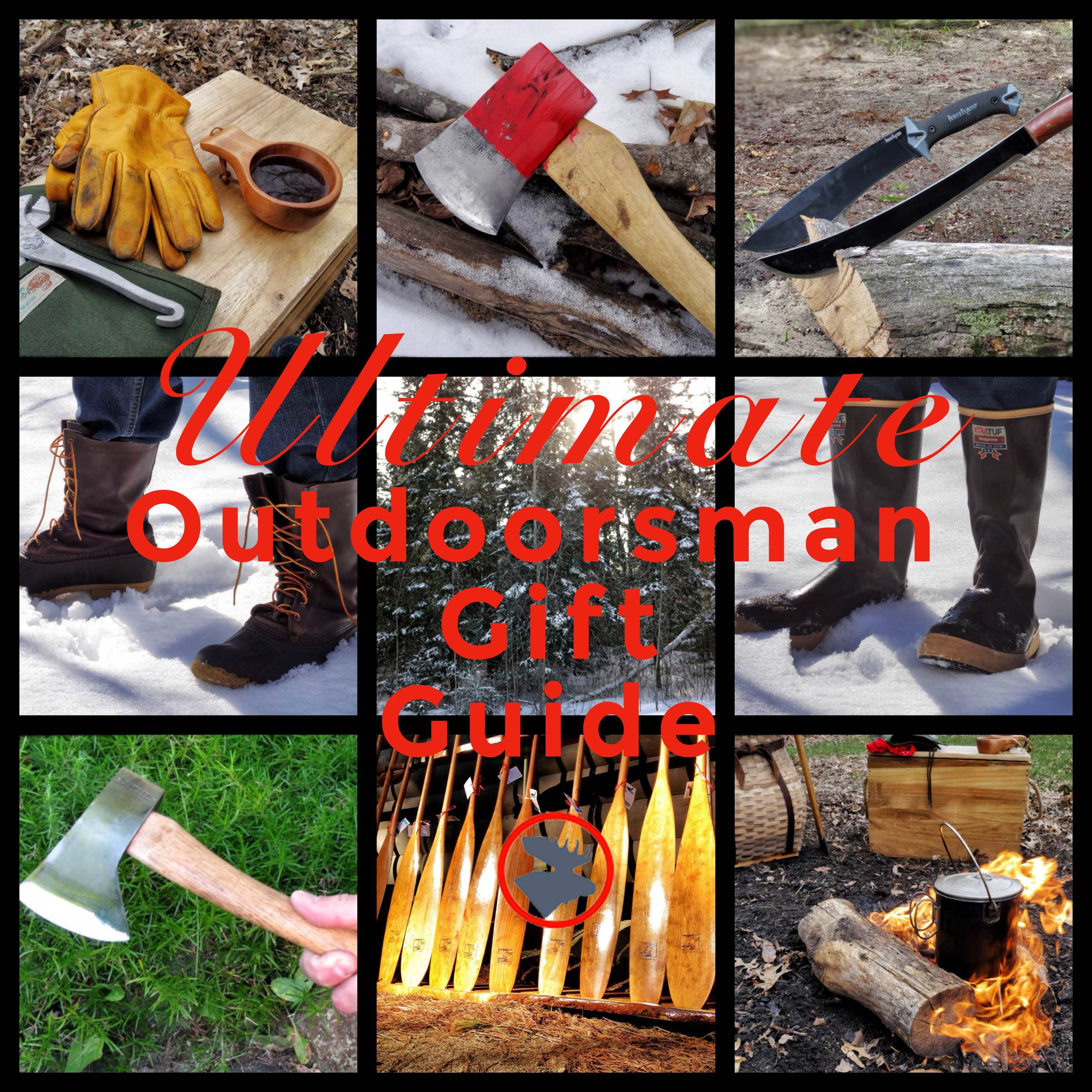 Outdoorsman Holiday Gift Guide | www.BullMoosePatrol.com