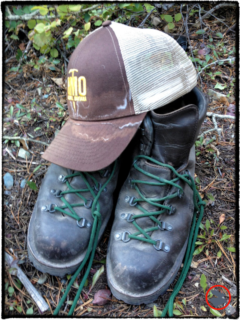 My Danner boots comfortably handled a week ofbackpackingGlacier National Park's backcountry. Hat and boots above were both new at the begining of the trip.